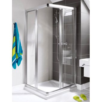 Simpsons Supreme Corner Entry Shower