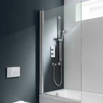 Shower Screens Hinged, Fixed & Foldable From ukBathrooms