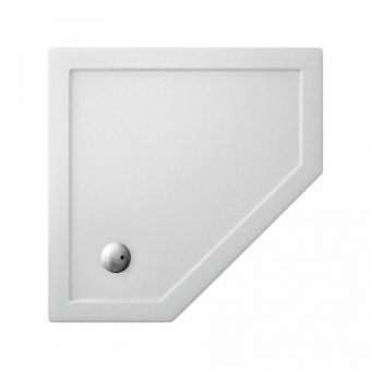 Crosswater (Simpson) Pentagon 35mm Acrylic Shower Tray