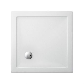 Simpsons Square 35mm Acrylic Shower Tray
