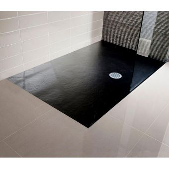 Simpsons Textured Slate Effect Shower Tray