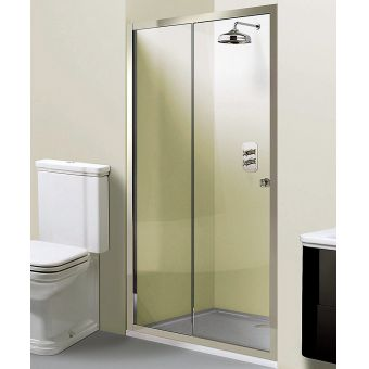Simpsons Arcade Single Slider Shower Door