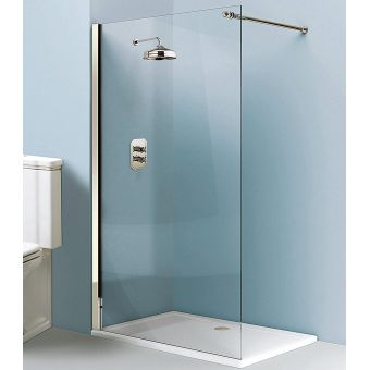 Simpsons Arcade Walk In Easy Access Shower Panel