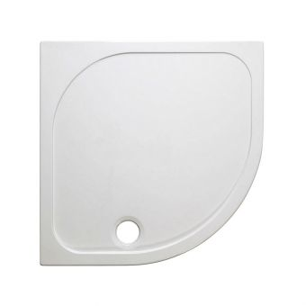 Crosswater(Simpsons) Quadrant 45mm Stone Resin Shower Tray