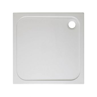 Simpsons Square 45mm Stone Resin Shower Tray