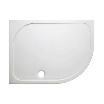 Crosswater (Simpsons) Offset Quadrant 45mm Stone Resin Shower Tray