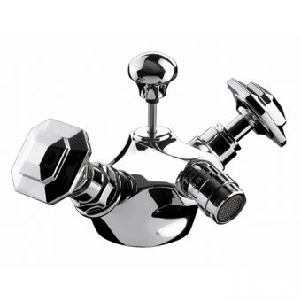 Imperial Niveau Bidet Mixer Tap with Pop-up waste