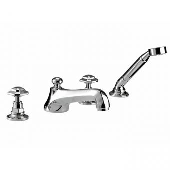 Imperial Niveau 4 Hole Bath Filler kit & Shower Handset