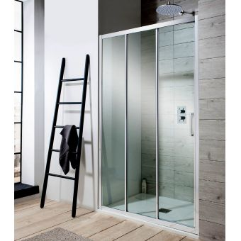 Simpsons Edge Triple Slider Shower Door