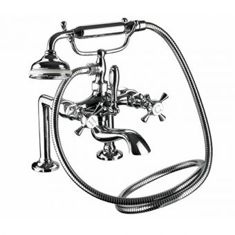 Imperial Glace Bath Shower Mixer Kit (Deck Mounted)
