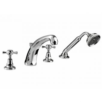 Imperial Glace 4-hole Bath Filler and Handset Kit