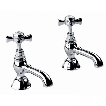 Imperial Edwardian Basin Pillar Taps
