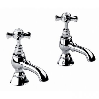 Imperial Edwardian Bath Pillar Taps
