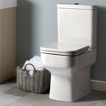 Roper Rhodes Geo Close Coupled Toilet - GCCPAN