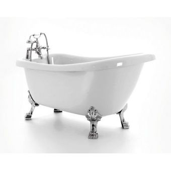 Royce Morgan Crystal 1680mm Freestanding Slipper Bath
