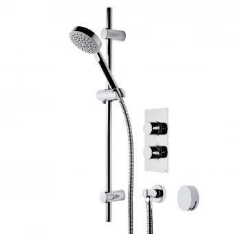 Roper Rhodes Event Round Dual Function Shower System - SVSET21