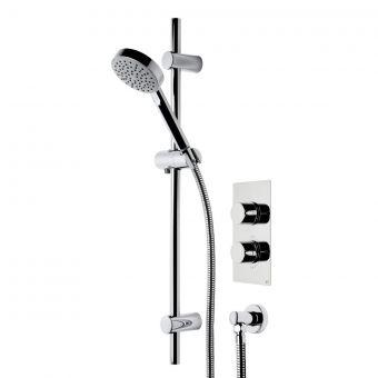 Roper Rhodes Event Round Single Function Shower System - SVSET20