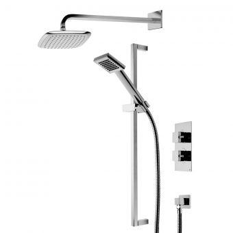 Roper Rhodes Event Square Dual Function Shower System - SVSET17