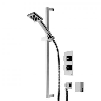 Roper Rhodes Event Square Dual Function Shower System with Bath Filler