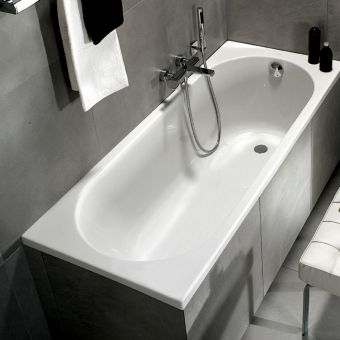 Villeroy and Boch O.Novo Solo Single Ended Rectangular Bath