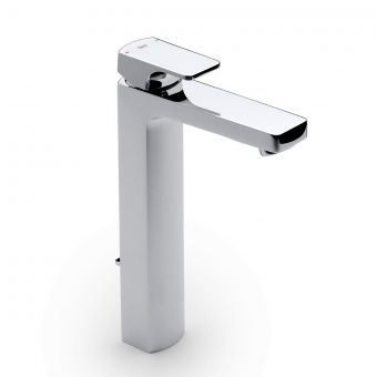 Roca L90 Tall Basin Mixer Tap with Pop-up Waste
