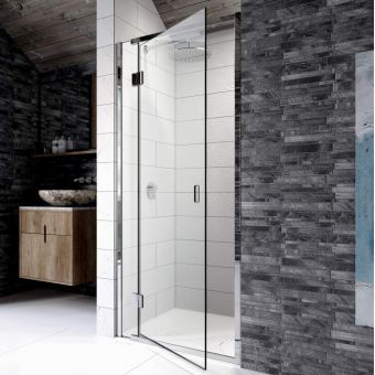 Frameless Shower Doors.Kudos Pinnacle 8 Sliding Shower Door For Recess