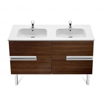 Roca Victoria-N  Double Drawer Double Vanity Unit