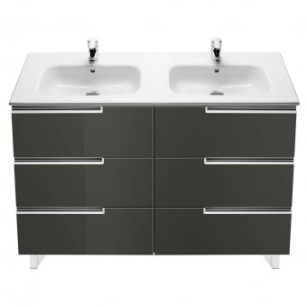 Roca Victoria-N 3 Drawer Double Vanity Unit