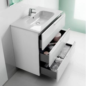 Roca Victoria-N 3 Drawer Vanity Unit with Basin