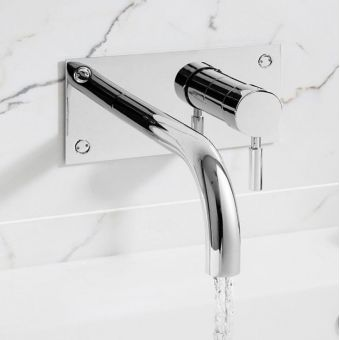 Crosswater Design Wall Mounted Bath Filler