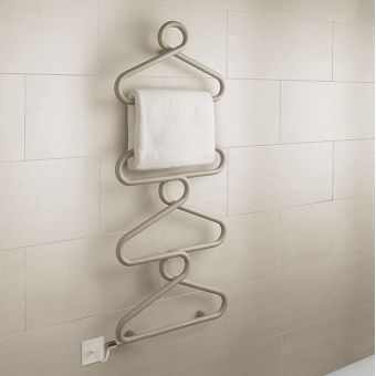Bisque Archibald Electric Towel Radiator