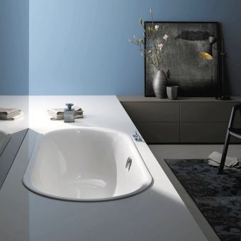 Bette Starlet Flair Oval Steel Bath