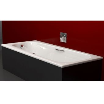 Bette Form Safe Normal Steel Twin Grip Bath