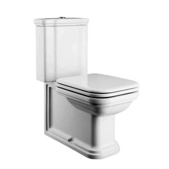 Bauhaus Waldorf Close Coupled Toilet