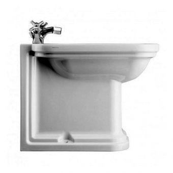 Crosswater (Bauhaus) Waldorf Back to Wall Bidet 55 - WF8007CW