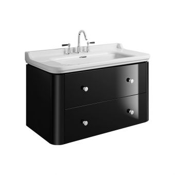 Bauhaus Waldorf Wall Hung Vanity Unit With Basin