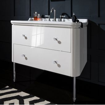 Bauhaus Waldorf Vanity Unit With Basin