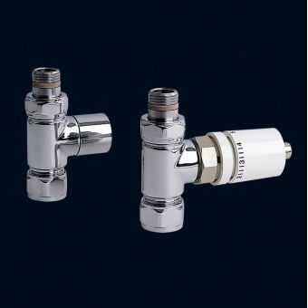 Bisque Thermostatic Valve Set E (Straight)