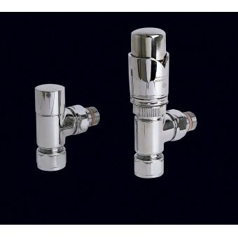 Bisque Thermostatic Valve Set K (Angled)