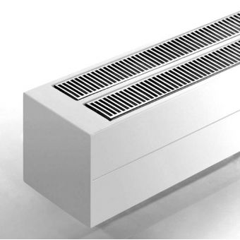 Bisque Convector Double Radiator