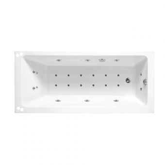Phoenix Rectangularo Single Ended Whirlpool Bath