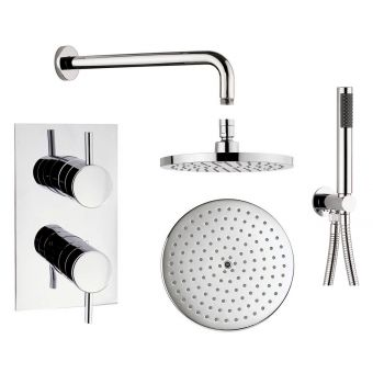 Origins Concealed Shower Valve with Fixed and Hand Held Shower - GTL014