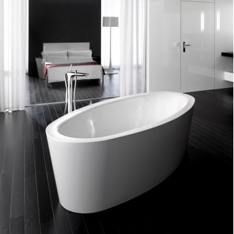 Bette Home Oval Silhouette Super Steel Bath