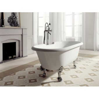Ramsden & Mosley Rona Double Ended Freestanding Roll Top Bath