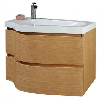 Phoenix Wave Vanity Unit with Mineral Cast Basin