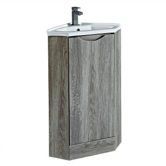Phoenix Naples Corner Unit with Mineral Cast Basin