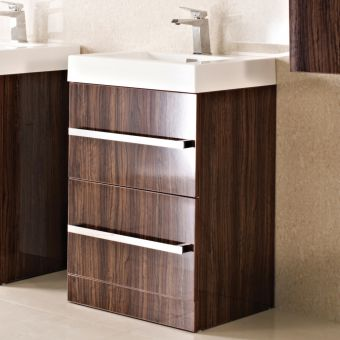 Phoenix Vue Floor Standing Vanity Unit with Basin