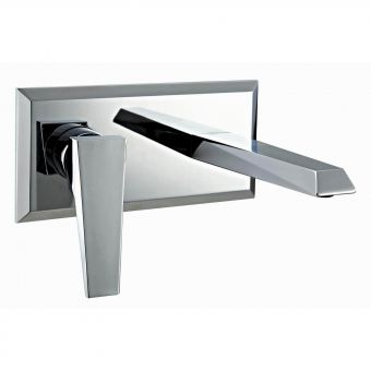 Phoenix Heidi 2 Hole Wall Basin Mixer