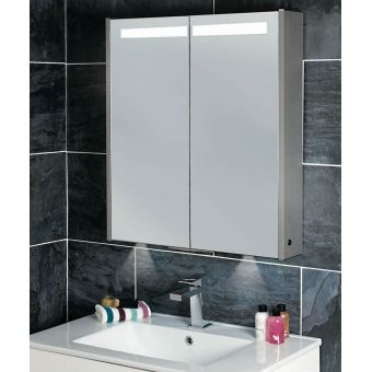 Phoenix Mercury Mirror Cabinet with Lighting