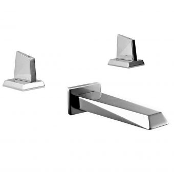 Phoenix Heidi Deck Mounted Valves with Wall Spout